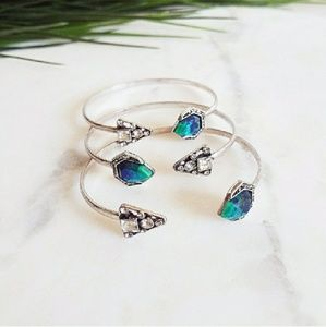 ✨HP Stone Crystal CZ Cuff Bracelet